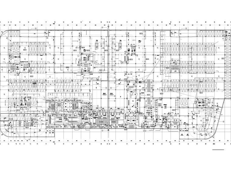 [浙江]高层办公大楼空调通风及防排烟系统设计施工图(人防设计)