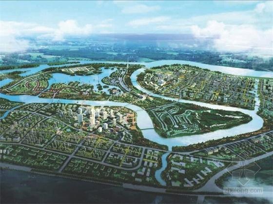 [天津]现代风格生态城规划设计方案文本
