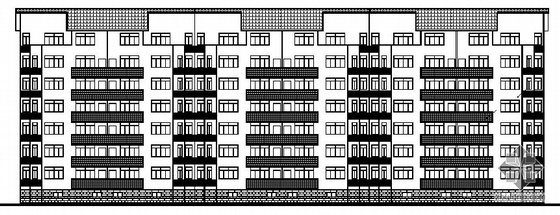 [南昌市]某七层砖混结构住宅建筑施工图