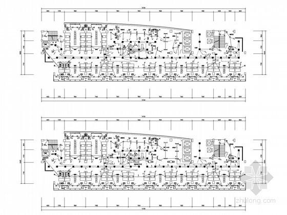 [甲级设计院]十二层大型医院综合楼全套电气施工图纸(含地下室)