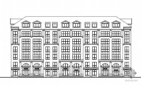 [长春]某花园小区住宅楼建筑群方案及施工图(含总图)