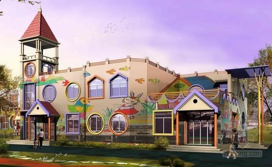 [湖北]幼儿园建筑安装工程量清单计价实例(含工程量计算 施工图纸)