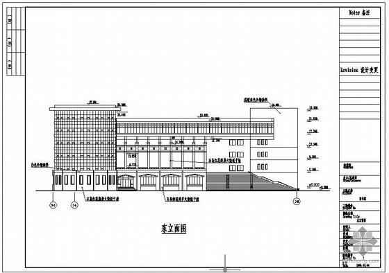某师范大学幕墙设计图
