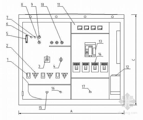 广东某配网工程箱变电气图纸