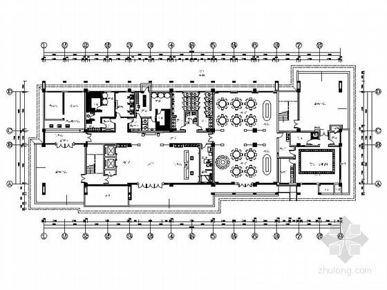 某国家级高新技术企业宿舍楼CAD施工图(含效果)