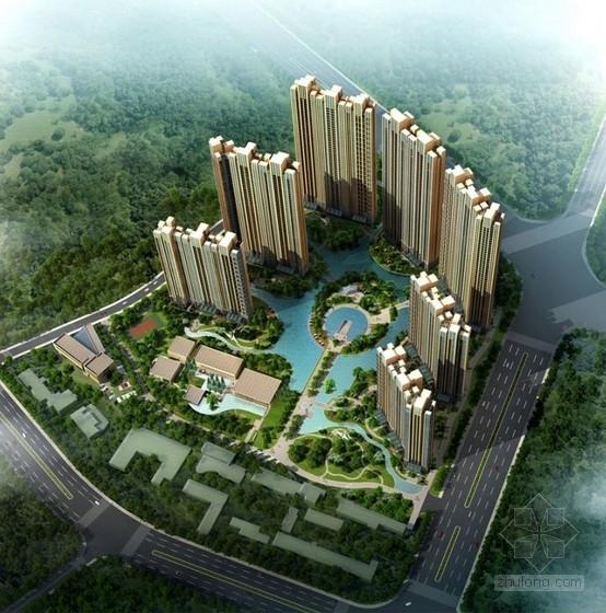 [无锡]现代化超高层住宅建筑设计方案文本(含商业及会所建筑)