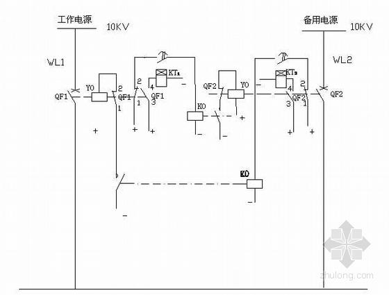 10KV总配电所电气一、二次系统部分设计