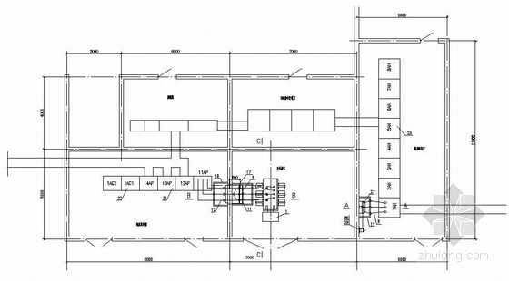 某厂区变电所高低压成套图