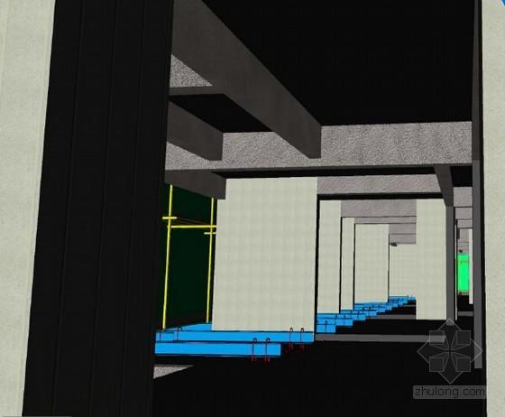 [创新QC]住宅工程施工利用BIM技术提升脚手架设计符合率