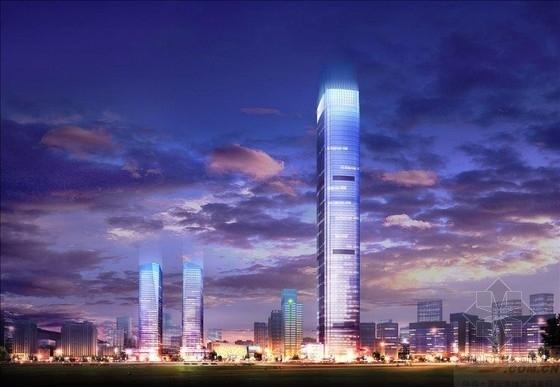 [天津]83层与24层筒中筒结构超高层办公大厦结构施工图(358米 地下四层 CAD与PDF双版本)