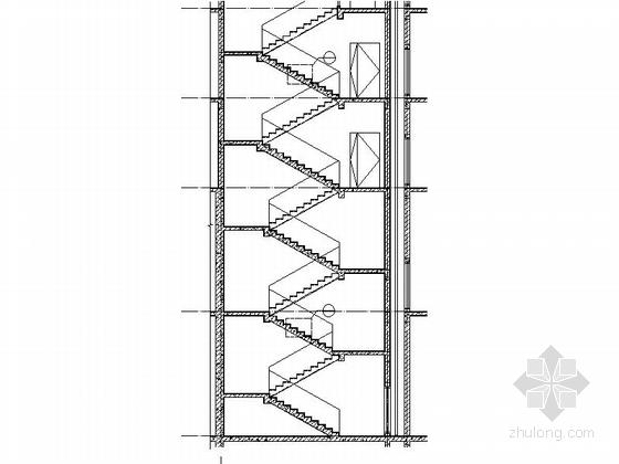 现代风格5层酒店式公寓节点图