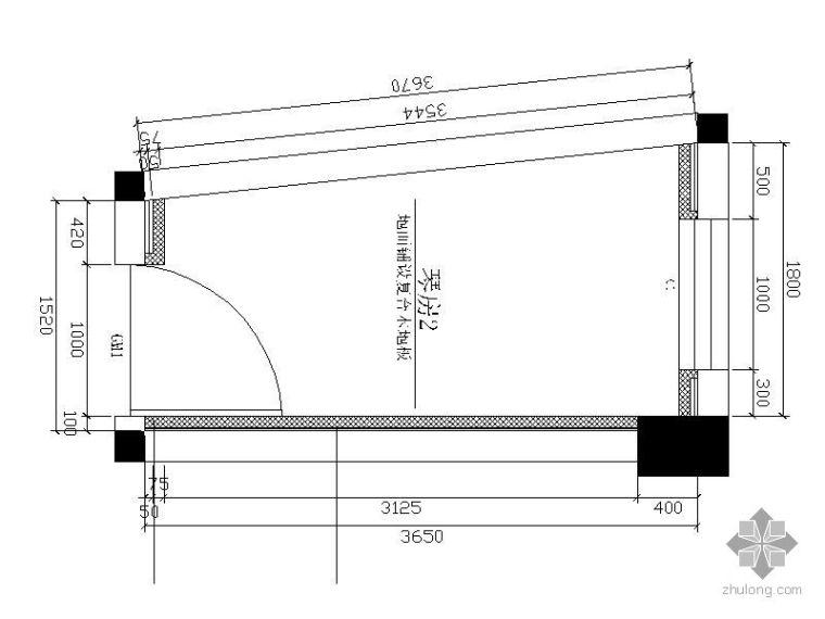琴房声学装修工程图纸