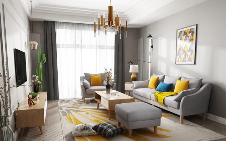不同feel的客厅,你会pick哪一款?_5