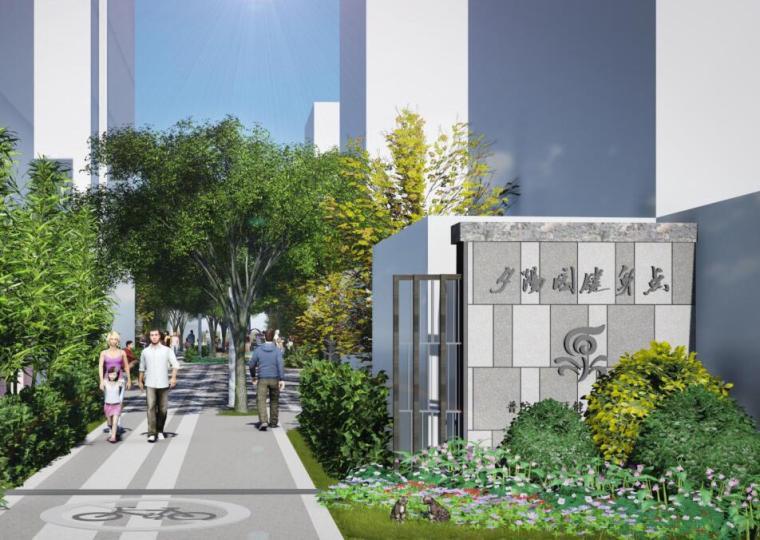 [上海]石泉街道居住区景观方案设计(PDF+74页)
