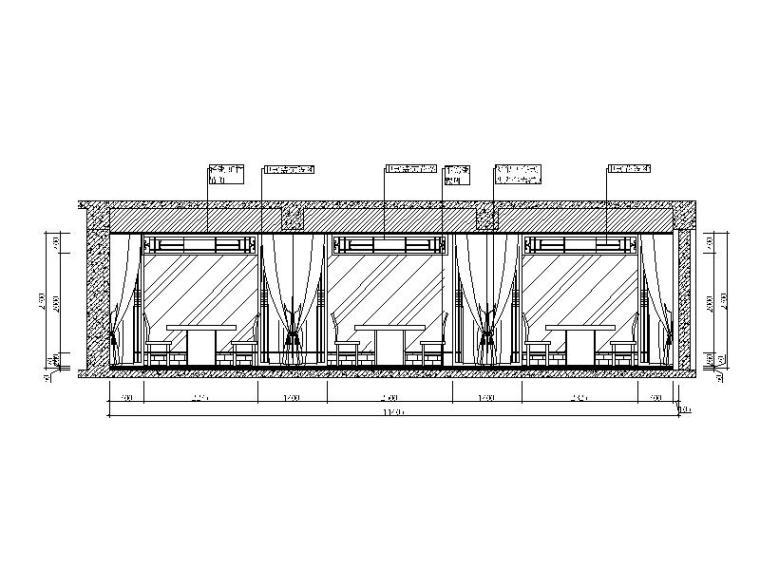 中式火锅店装修(含效果图、CAD施工图、3D模型带灯光材质)_2