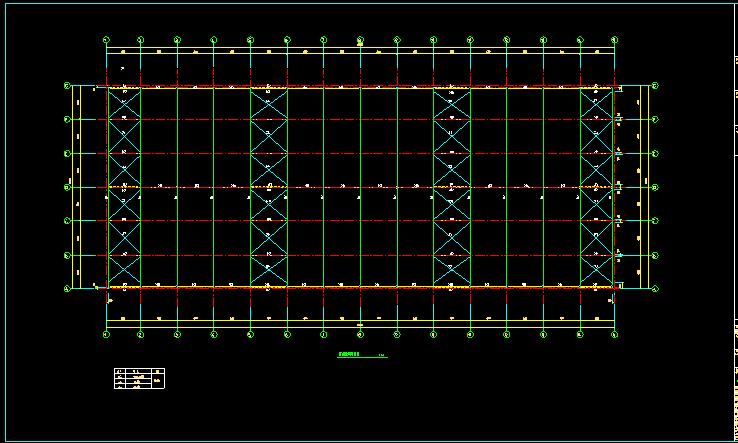 单层双跨实腹式门式刚架结构车间厂房结构施工图_4