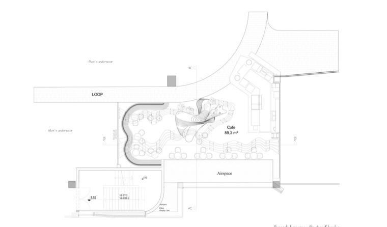 德国奥斯纳布吕克的绿色小酒馆----咖啡鸡尾酒餐厅方案(27页)