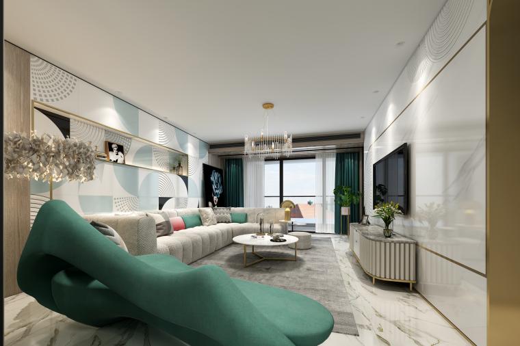 佛山保利公馆新现代主义风格住宅空间