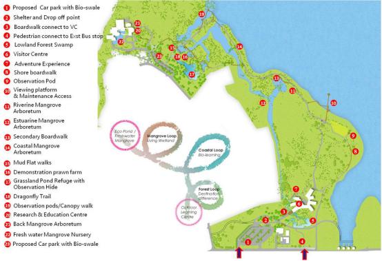 案例分享|新加坡双溪布洛湿地公园景观设计_6