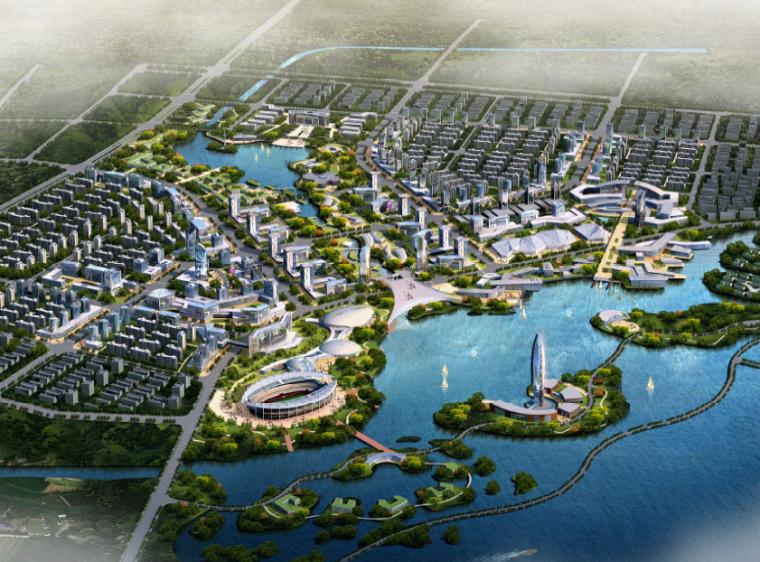 [内蒙古]环乌海湖区域概念性规划及城市设计方案文本