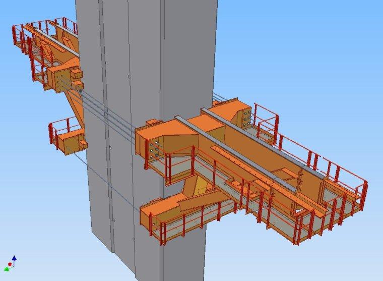 跨海大桥北引桥连续箱梁MSS移动模架施工方案