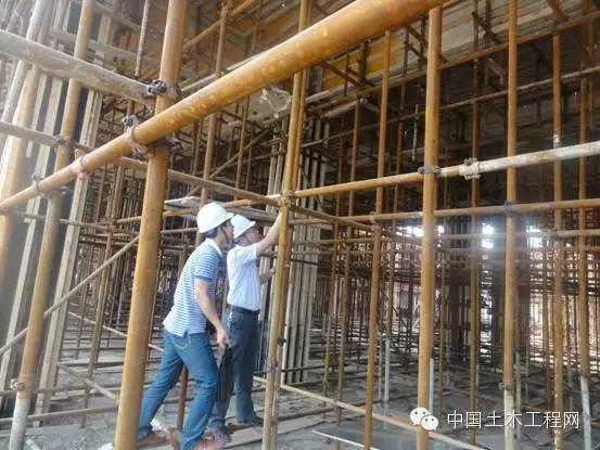 房建工程模板分项工程技术交底事例