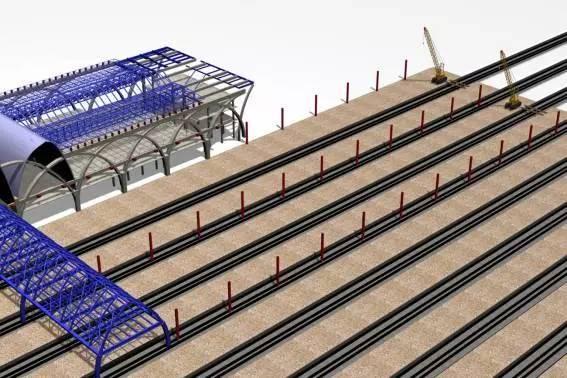 钢结构虚拟仿真施工安装流程