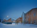 """空间灵活的芬兰""""谷仓""""幼儿园"""