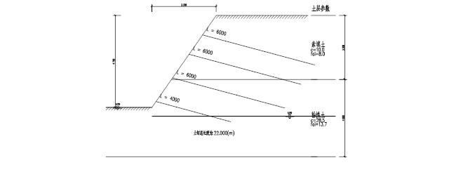 土钉墙基坑支护设计方案_2