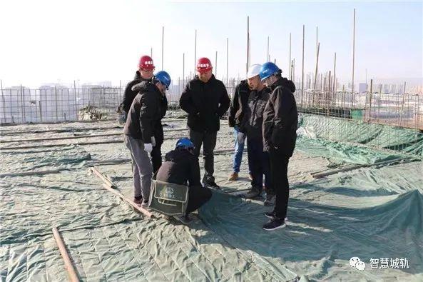 呼和浩特地铁控制中心工程主体结构封顶_1