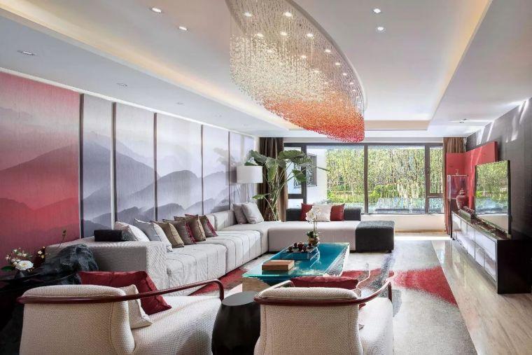 最美新东方生活体验空间-新中式风住宅设计实景图