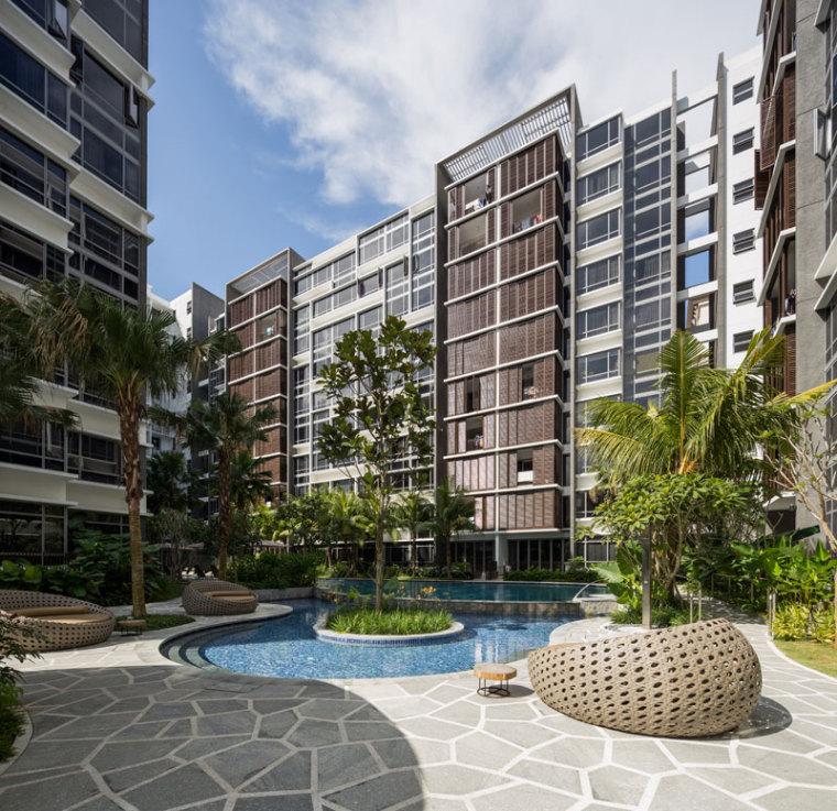 新加坡Lanai住宅区_5