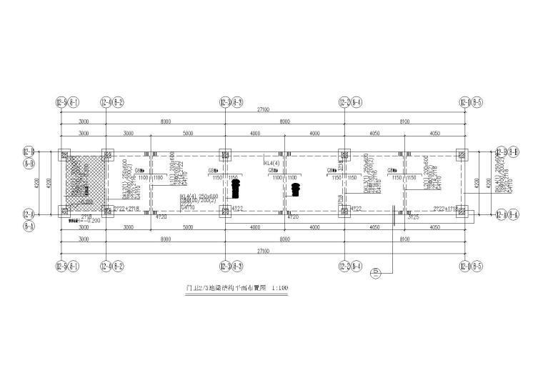 [南沙]门卫连廊结构施工图(2017)