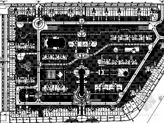 [江西]生态优美住宅景观设计施工图