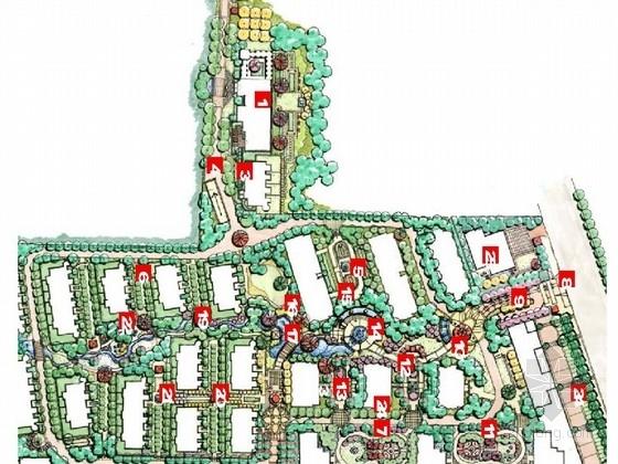 [青岛]英伦风情居住区景观规划设计方案(著名景观公司)
