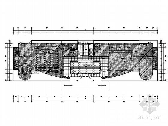 [原创]福州最新上市公司设计办公室施工图(含高清效果图)