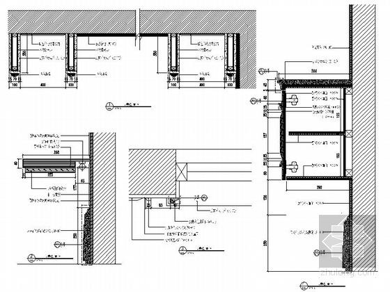 [温州]低调奢华欧式风格四居室样板间装修图(含效果)儿童房立面图