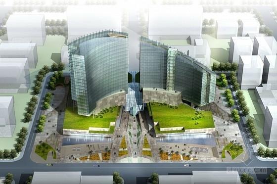 [山西]高新技术研发大厦建筑设计方案文本