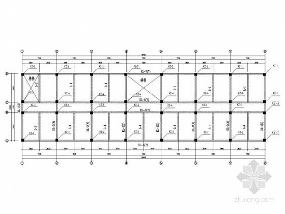 [学士]六层框架结构办公楼毕业设计(含建筑图)