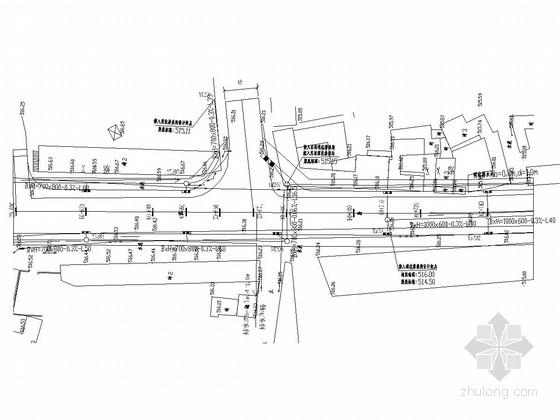 [四川]城市支路旧路改造工程排水电力照明施工图设计84张