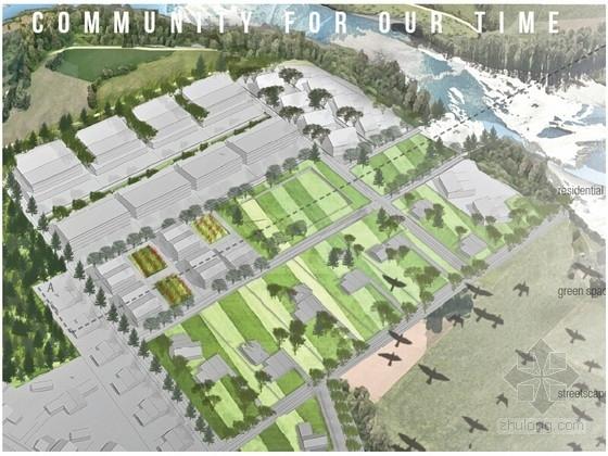 [国外]滨水高校景观规划方案设计