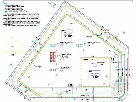 [湖北]地标建筑20米深基坑排桩加钢支撑支护招标图(附方案汇报PPT 已中标)