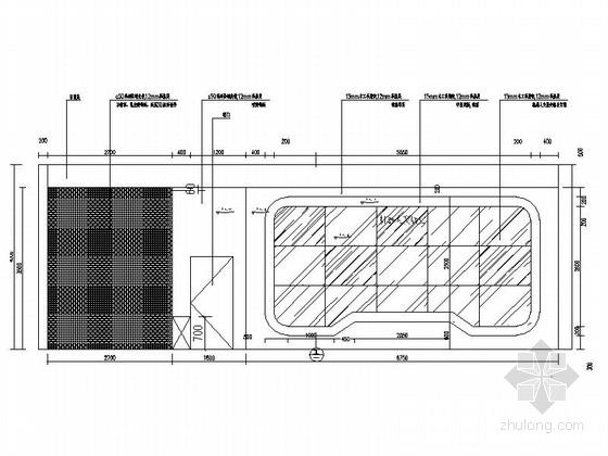 [重庆]高新智能科技功能规划产业园展示厅装修施工图(含效果)机器人发展史立面图