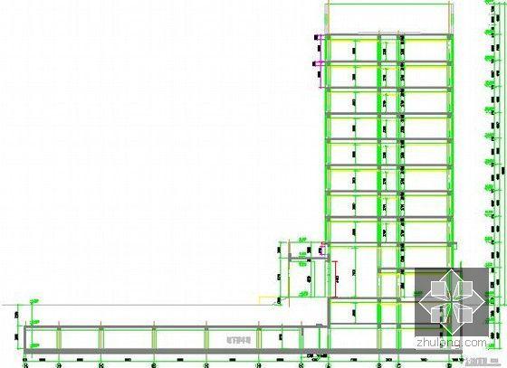 [北京]教育实习基地项目建设工程施工招标文件及投标文件(附全套图纸报价施组)-剖面图