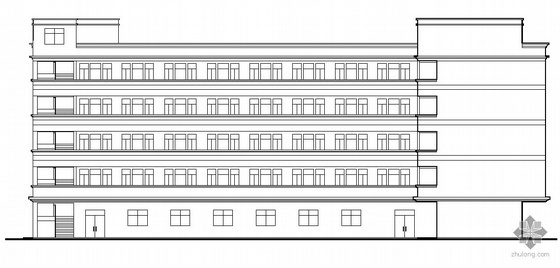 [东莞]某工厂五层宿舍楼建筑施工图