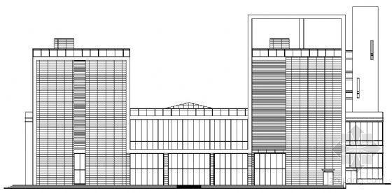某五层公建项目建筑扩初图