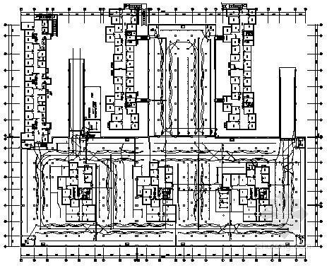 [山东]大型地下车库电气施工图纸