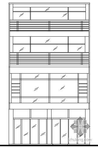 [南宁市]某三层别墅建筑结构水电方案图
