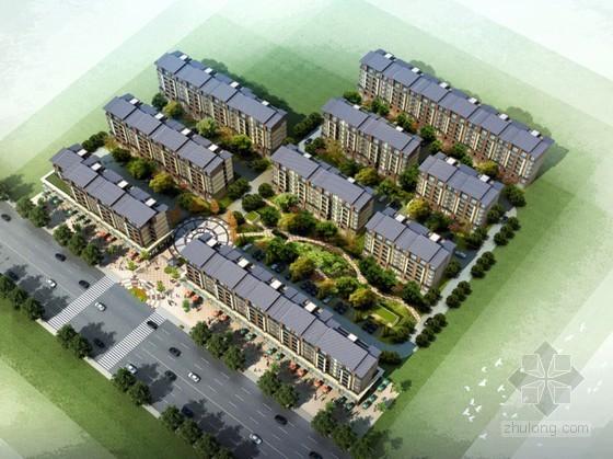 [江苏盐城]某农贸市场东地块建筑规划方案文本