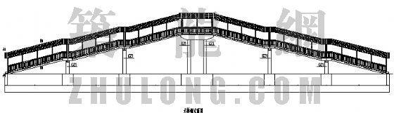 天桥结构施工图纸